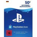 50€ Playstation Network Guthaben für 42,02€
