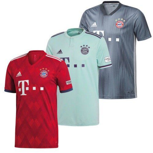 adidas FC Bayern Trikot 2018/2019 für 39,99€ (statt 45€)