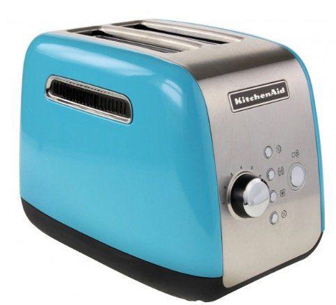 KitchenAid 5KMT221   blauer 2 Scheiben Toaster für 59,90€ (statt 70€)