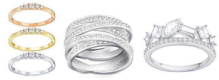Swarovski Sale bei vente privee   z.B. Swarovski Ring Spiral für 59,99€ (statt 99€)
