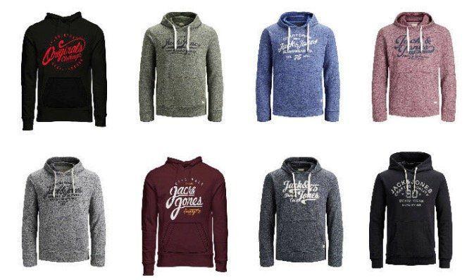 Jack & Jones Pullover Hoodies und Sweater bis 2XL ab je 24,99€ (statt 32€)