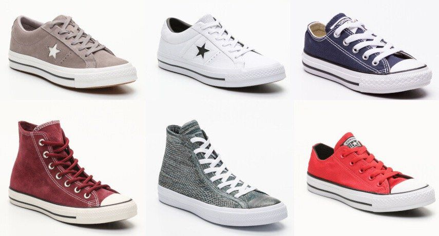 Converse Sale bei vente privee   z.B. Sneakers Chuck Taylor All Star Ox in Rot ab 33€ (statt 43€)