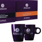 192 Altezza Kaffeekapseln für Nespresso inkl. 2 Altezza Tassen für 29,99€