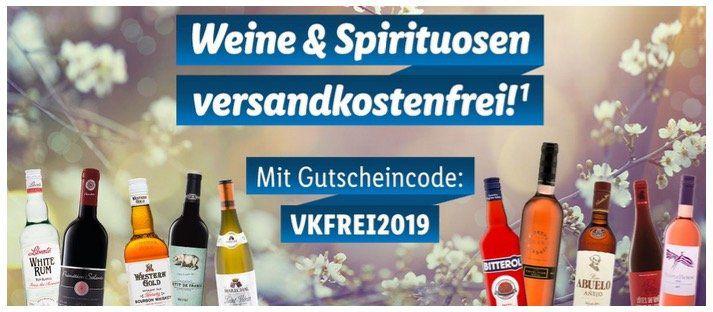 LIDL Weine & Spirituosen versandkostenfreie Lieferung ab 29€ Warenkorb