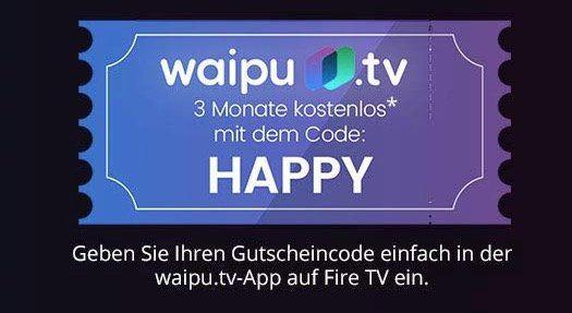 3 Monate waipu.tv Perfect Paket kostenlos   monatlich kündbar