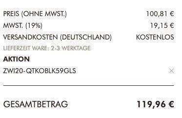 Zwilling Passion Topf Set 5 teilig für 119,96€ (statt 147€)