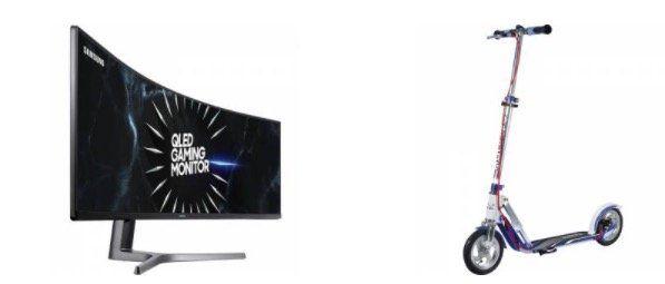 Bis Mitternacht: 10% Rabatt im Alternate Shop bei Rakuten   z.B. Samsung C49RG90 Monitor für 899,10€ (statt 999€)