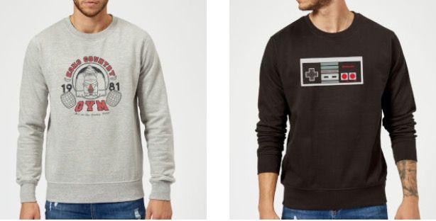 Pullover + T Shirt (Zurück in die Zukunft, Nintendo etc.) für 26,99€ (statt 45€)