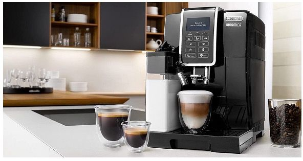 DeLonghi ECAM 350.55.B Dinamica Kaffeevollautomat für 451,37€ (statt 531€)