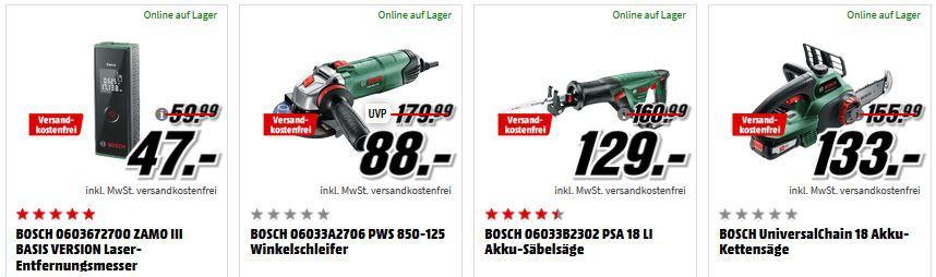 Media Markt Bosch Tiefpreisspätschicht: günstige Haushaltsartikel: z.B. BOSCH MMBM Standmixer Edelstahl für 27€ (statt 32€)