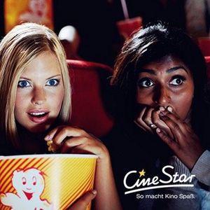 CineStar Kino Gutschein für 2D Filme inkl. Zuschlägen, Popcorn oder Nachos und Getränk nur 10€