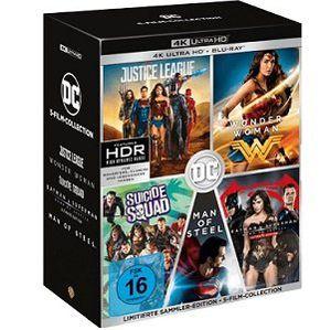 DC 5 Film Collection (Limitierte Exklusivedition) 4K UltraHD Blu ray für 79€ (statt 100€)