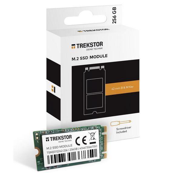 TrekStor SSD Modul Intern M2 256GB für 59,90€ (statt 77€)