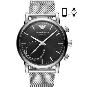 EMPORIO ARMANI ART3007 Connected Smartwatch, Edelstahl, 200 mm für 189€ (statt 280€)