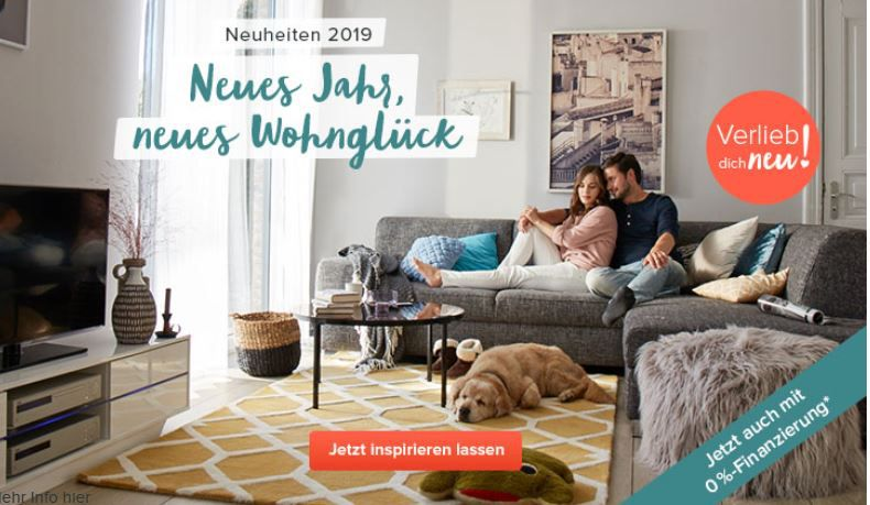 Tipp: Home24 mit 0% Kreditzinsen bei Einkäufen von 200€ bis 2.800€