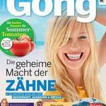 """Jahresabo """"Gong"""" für 119,60€ + 120€ Bestchoice Gutschein"""