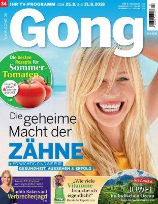 Jahresabo Gong für 119,60€ + 120€ Bestchoice Gutschein