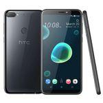 HTC Desire 12+ 6″ Smartphone mit 32GB und Dual SIM in Schwarz + Adidas Fußball ab 125,10€ (statt 169€)