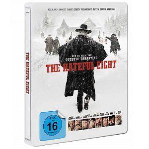 The Hateful 8 Steel Edition als Blu ray für 13,99€ (statt 21€)