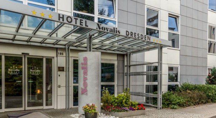 3* Hotel Novalis  Dresden (89%) für 2 Personen nur Übernachtung mit Wifi und Parken nur 39€ (statt 78€)