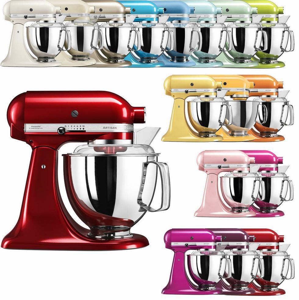Kitchenaid Artisan   Küchenmaschine 5KSM185PS für 369€ (statt 580€)   Factory Serviced