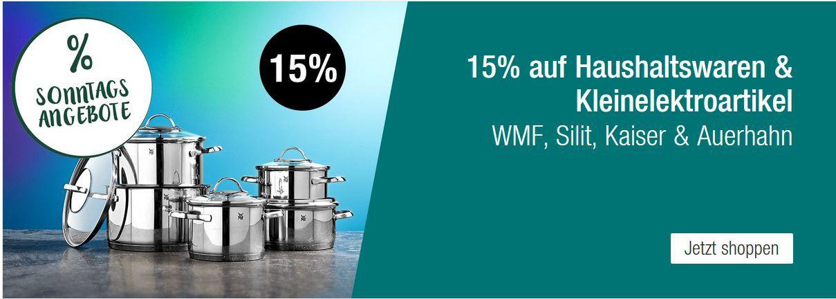 Galeria Kaufhof Sonntagsangebote   z.B. 20% auf reduzierte Uhren  & Schmuckartikel der Marken manguun, FOSSIL, s.Oliver uvm.