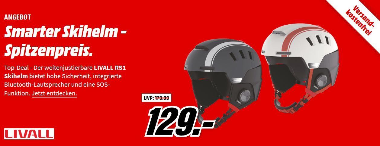 LIVALL RS1   Ski & Snowbord Helm mit Funkverbindung für 89€ (statt 105€)