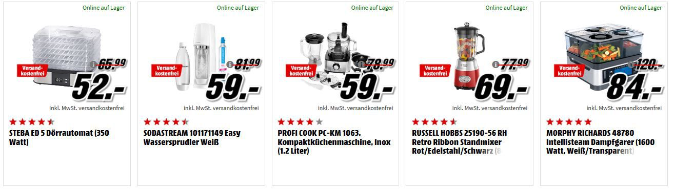 Media Markt Fitness Aktion Gunstige Heimtrainer Kuchenmaschinen