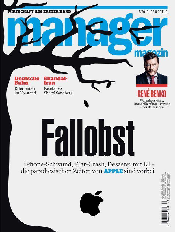 3 Ausgaben Manager Magazin für 17,55€ + 10€ Verrechnungsscheck