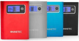 NINETEC NT 568 Premium Aluminium Power Bank 13.400 mAh für 11,99€ (statt 30€)