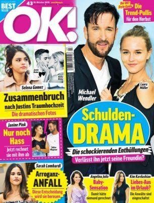 26 Ausgaben der OK! für 72,80€ + 75€ Amazon Gutschein