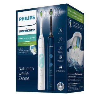 Philips HX6851 ProtectiveClean Schallzahnbürste im Doppel Pack für 119€ (statt 139€)