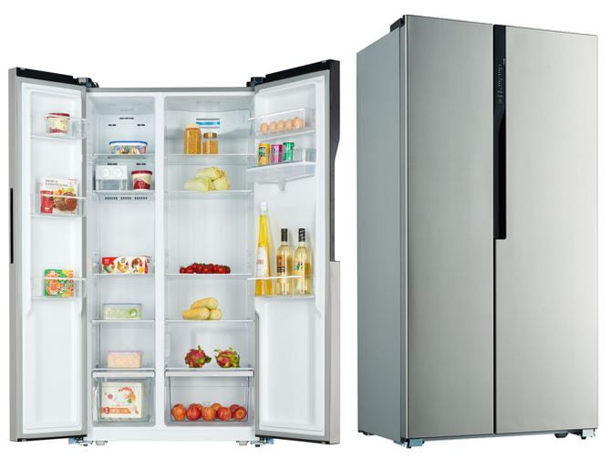 Top: PKM SBS530.4A+NF   Inox Design Side by Side Kühl Gefrierkombination mit Icemaker 510,98€ (statt 690€)