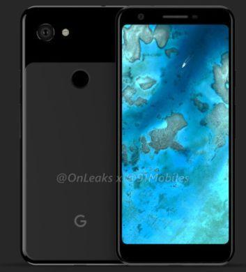 Neue Informationen und Render Bilder zu Google Pixel 3 Lite Modellen