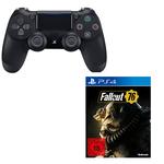 PS4 Controller + Fallout 76 für 55€ (statt 74€)