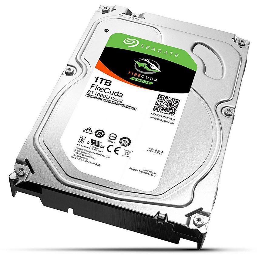Seagate FireCuda ST1000DX002   1TB interne SSHD Festplatte recertified für 33€ (statt 70€ Neu)
