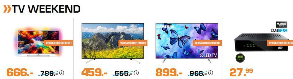 Saturn Weekend Sale: günstige TVs, Speicher, Haushaltsgeräte ...