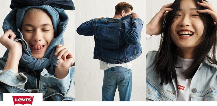 Levis Damen und Herren Fashion bei vente privee   z.B. Herren Jeans Saint Mark in Slim Fit ab 42,99€ (statt 53€)