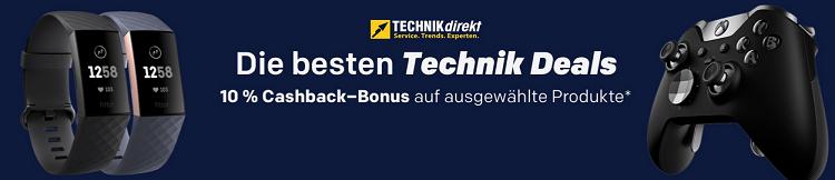 15% Rabatt auf alles von Technikdirekt + 10 fach Superpunkte bei Rakuten