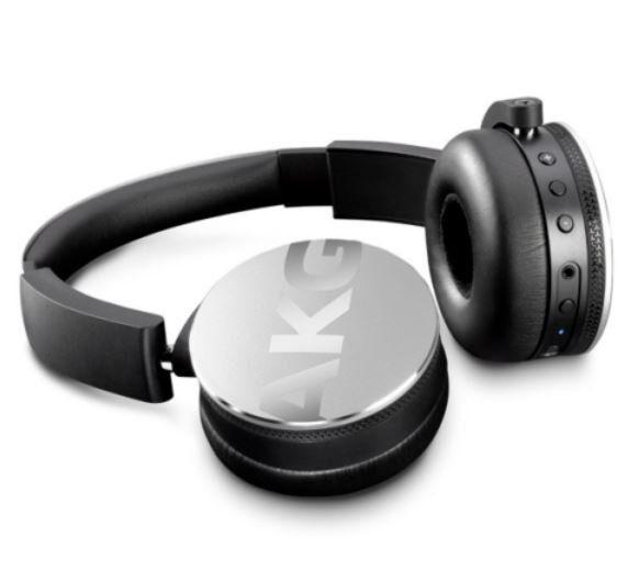 AKG Y 50BT Silver On Ear Kopfhörer mit Bluetooth für 59,90€ (statt 135€)