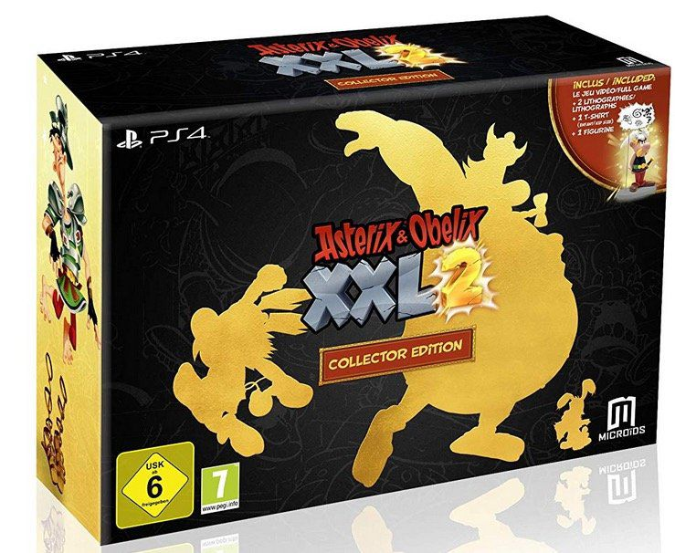 Asterix & Obelix: XXL 2 Collectors Edition (PS4) für 59€ (statt 70€)