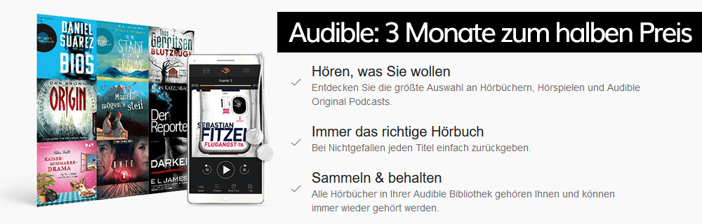 audible 50%