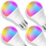 4er Set Teckin Smart RGB LED-Birnen für 35,50€ (statt 53€)
