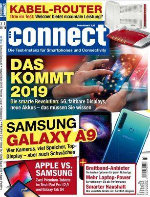 Connect   Technik Magazin Jahreabo für 75,60€ + Prämie: 50€ BestChoice Gutschein