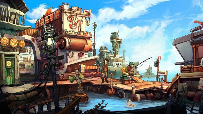 Humble Store: Deponia: The Complete Journey kostenlos (statt 30€)