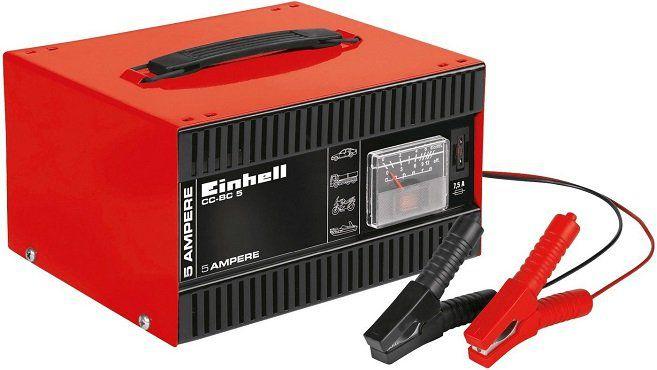 Einhell CC BC 5 Batterie Ladegerät in Rot/Schwarz für 18€ (statt 22€)