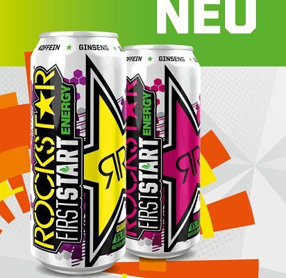 Gratis: Energy Drink Rockstar First Start