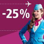 25% Extra Rabatt auf viele Flüge bei Eurowings