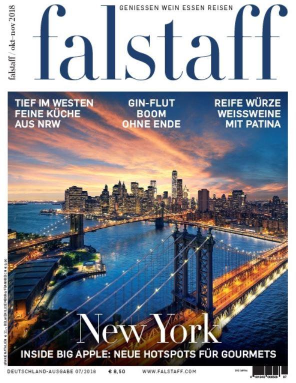 Falstaff Wein & Lifestyle Magazin im Jahresabo gratis (statt 69,90€) + Versandkosten einmalig 4,95€
