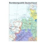 Politische Faltkarte von Deutschland gratis bestellen